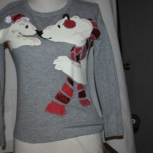 justice polar bear sweater